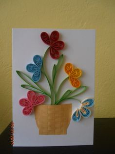Image result for FLORES QUILLING