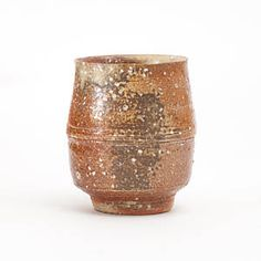 Erik Haugsby - Woodfired ceramic yunomi, anagama kiln fired for 39 hours