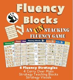 Fluency Blocks an UN-stacking GameA stuttering therapy gameI love playing stacking blocks