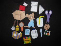 Mrs. Albanese's Kindergarten Class: Literacy Centers 101: Felt Board