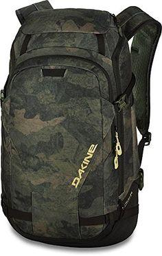 e070e51c2fa Dakine Mens Heli Pro DLX 24L Backpack Shovel, Camo, Helmet, Gears, Snowboard