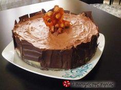 Τούρτα σοκολάτα με καραμέλα - Choc caramel torte - needs translation