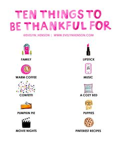 10 things to be thankful for 2015 www.evelynhenson.com