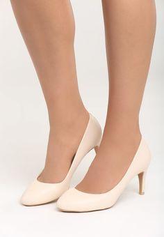 Pantofi cu toc Clover Albi fildes Pumps, Shoes, Fashion, Choux Pastry, Moda, Zapatos, Shoes Outlet, Court Shoes, Pump Shoes