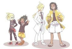 Gladion and Hau