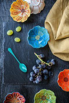 Tulipani Tulip-Shaped Mini Bowls - €14.00.  http://www.dishesonly.com/products/tulipani-decorative-side-bowl