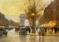 The Lido Champs Elysees - Edouard Cortes - WikiPaintings.org