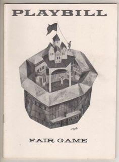 "Sam Levene  ""Fair Game""  Playbill  1957  Broadway | eBay"