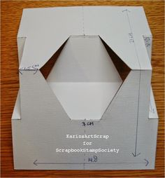 Scrapbook Stamp Society: New Shape of card