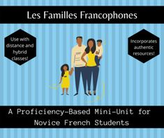 This mini-unit includes a Google Presentation with links to over 6 hours of resources, activities and communicative tasks including:An essential question and Can-Do StatementsPreviewing discussion questionsA Google Presentation with illustrated vocabulary and discussion questionsA vocabulary matchin... Essential Questions, Vocabulary, Presentation, The Unit, Student, French, Activities, Mini, Google