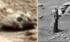 Shock discovery on MARS? Claims ALIEN SKULL and FOSSIL TREE STUMP found