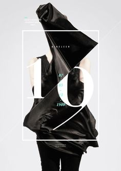 LSAD Fashion Show | Typography and graphic design - black and white |…