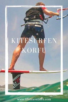 Hier findest du alle Infos zum Thema Kitesurfen auf Korfu! Die griechische Insel bietet Top-Bedingungen für Kitefoiler und Kite-Anfänger. In unserem Beitrag erfährst du alle Infos zum Chalikounas Beach und der Kitestation. #kite #kitesurf #korfu #kitesurfen