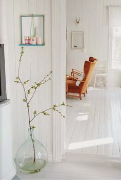 My white Scandinavian home. Splash of colors. - contemporain - Salle de Séjour - Other Metro - Jeanette Lunde Decor, House Design, Interior, Contemporary Living Room, Scandinavian Home, House Interior, Home Deco, Interior Design, Home And Living