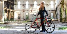 "BRN Fixed Bike - Red ""Cromovelata"" www.bernardisrl.net"
