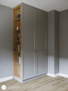 COUNTRY SPIRIT on Behance Bedroom Built In Wardrobe, Bedroom Closet Design, Bedroom Wardrobe, Home Room Design, Home Office Design, Home Bedroom, House Design, Hall Wardrobe, Wardrobe Door Designs