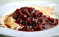 Spicy Cranberry Sauce with Pinot Noir ____________________________ Simply Recipes