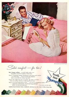 Ah, those 50s style twin beds.