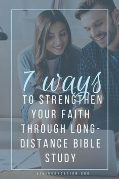 This is a list of seven ways that long-distance Bible study has helped me continue to grow my faith during times of transition and busyness. Free Bible Study, Online Bible Study, Bible Study Group, Bible Study Tips, Bible Studies For Beginners, Online Book Club, Reading Groups, Long Distance, Distance Gifts