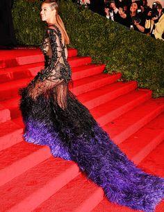 Beyonce. Met Gala 2012.