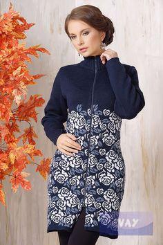 Жакет жен. 1240, цвет 13-0189/501/011 т.синий/белый/св.джинс
