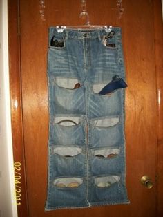 upcycle a pair of jeans