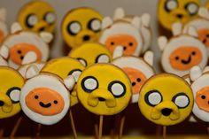 Finn & Jake  #Cookies #HoraDeAventura #AdventureTime #Finn #Jake #Finn&Jake Babyshower, Finn Jake, Adventure Time, Cupcakes, Cookies, Events, Crack Crackers, Cupcake Cakes, Baby Shower