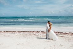 Destination wedding, beach wedding, Tulum, Mexico