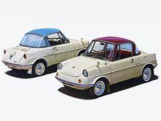 All-Cars Charly (Snuggy) | Sumally Funny Car Memes, Car Humor, Vintage Cars, Antique Cars, Kei Car, Japanese Sports Cars, Mazda Cars, Microcar, Miniature Cars