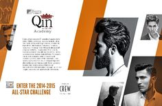 Hairstyling Qin Academy - Magazine advertising layout #advertising #hairstyle #adv #ragusa #academy #magazine #layout #graphic #design #inspiration #campain #pubblicità #media #creative #ideas #photograpy  www.euromanagement.it