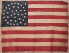 38 star flag from 1877-1890
