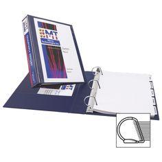 Durable View Binder W/slant Rings, 11 X 8 1 Cap, Blue Presentation Binders, 3 Ring Binders, Types Of Rings, Staying Organized, Cool Things To Buy, Organization, Pattern, Blue, Cap