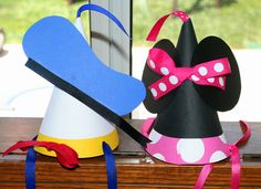 mini mouse pictures | Mickey Mouse Party hats - Mimi's Dollhouse