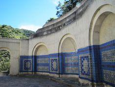 Inside the memorial, Catalina Island, California