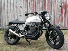 Moto Guzzi V7 scrambler #moto guzzi#scrambler