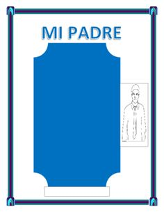 """Spanish Father's Day- """"Mi Padre""""-- Physical & Personality Traits - from mherterma from mherterma on TeachersNotebook.com (6 pages)  - This exciting lesson is the perfect tool to celebrate Father's Day in your classroom. You will be able to review colors, physical characteristics and adjectives."""