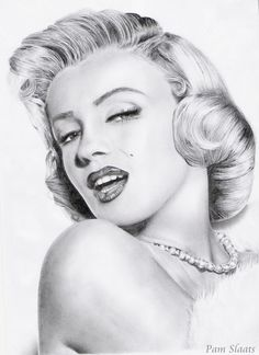 This image first pinned to Marilyn Monroe Art board, here: http://pinterest.com/fairbanksgrafix/marilyn-monroe-art/ || Marilyn Monroe by ~pamslaats on deviantART