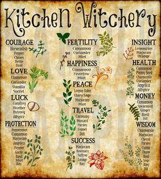 Witchcraft Herbs, Witchcraft Spell Books, Green Witchcraft, Magick, Witchcraft Symbols, Magic Herbs, Herbal Magic, Witch Herbs, Herbal Witch