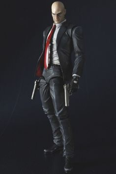 FIGURINE PLAY ARTS KAI - [HITMAN AGENT 47]