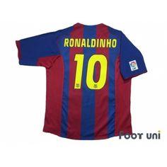 70e34f3c01e FC Barcelona 2004-2005 Home Shirt #10 Ronaldinho - Online Store From Footuni  Japan