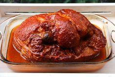 Deje que el jamon se repose durante unos minutos antes de servirlo