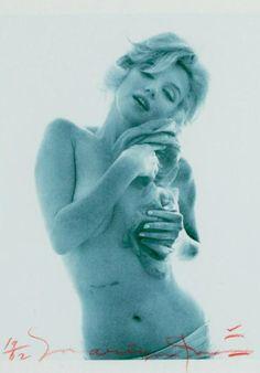 Photo by Bert Stern (1929-2013), 1962,  Marilyn, (the last photo shoot) Cicatrice, Color (2007), Fondation Bert Stern.