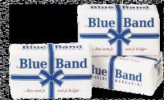 een pakje blue band voor op brood of om mee te bakken