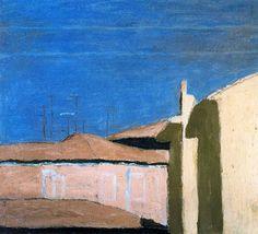 Morandi, Giorgio (1890-1964) - 1958 Patio in Via Fondazza (Museo de Bolonia, Italy) | 출처: RasMarley