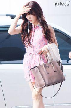 Tiffany Hwang Airport Fashion ♥