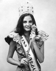 Miss Venezuela 1984 Carmen María Montiel