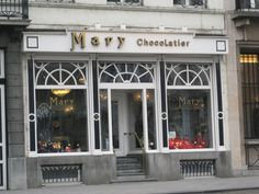 Mary Chocolatier, Brussels, Belgium.  Supposedly one of the best shops for handmade chocolates in the world.  Drool.