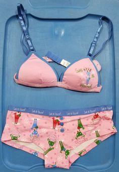 573811261d02a Girls Bra   Panty Set - Let it Snow Let It Snow