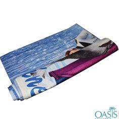 Wholesale Streaming Water with Stud Sublimation Towels Manufacturer, Supplier