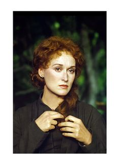 "Meryl Streep in ""The French Lieutenant's Woman"" (1981)"